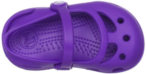 Crocs Shayna, Ballerines fille Rose (Neon Purple)