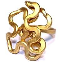 Anello Nodo del Sud small Oro Antico