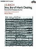 JESUS BLEIBET MEINE FREUDE (KANTATE BWV 147) - arrangiert für Klavier [Noten / Sheetmusic] Komponist: BACH JOHANN SEBASTIAN