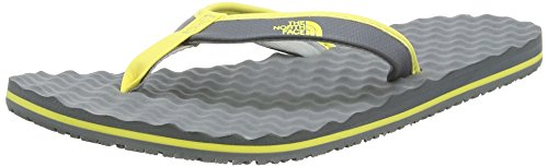 The North FaceBase Camp Mini - Sandali  donna Multicolore (Sedona Sage Grey/Goldfinch Yellow _ Gwg)