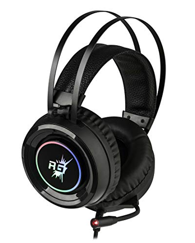 Redgear Cloak RGB Gaming Headphones with Microphone for PC Image 4