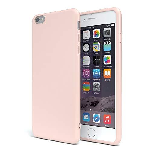 EAZY CASE Handyhülle Silikon mit Kameraschutz für Apple iPhone 6 / 6S in Altrosa, Rosa, Ultra dünn, Slimcover, Silikonhülle, Hülle, Softcase, Backcover