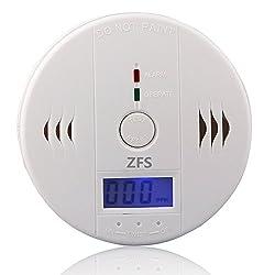 LCD Monitor Alarm Smoke Gas CO Warn Sensor Carbon Monoxide Detectors 1pc / 2pcs / 5pcs / 10pcs by ZFS