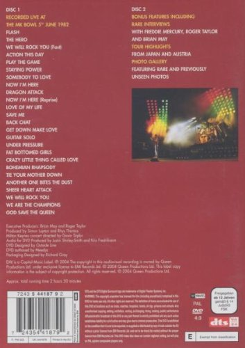 Queen : Live At The Bowl - Édition 2 DVD