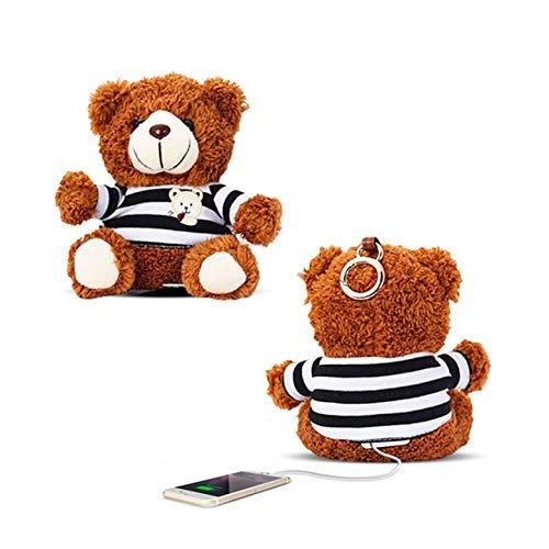 KawKaw Für eine größere Ansicht klicken Sie auf das Bild Powerbank in Teddybär-Form mit 10.000 mAh und 3 Charging-Slots (Bilder Von Teddybären)