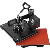 Impresora de transferencia de calor, 32-430 ℉ Impresora de prensa de calor de doble pantalla, para tapas de azulejos(European standard 220V)