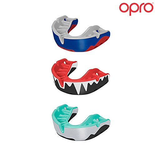 Opro Adult Platinum Level Mouthguard for Ball, Stick and Combat Sports - 18 Month Dental Warranty (Ages 10+)
