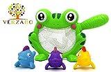 VERZABO FROG Bathtub Bath Toy Set for 12 Months Plus Children