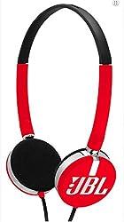 JBL T26C On-Ear Headphone-Red