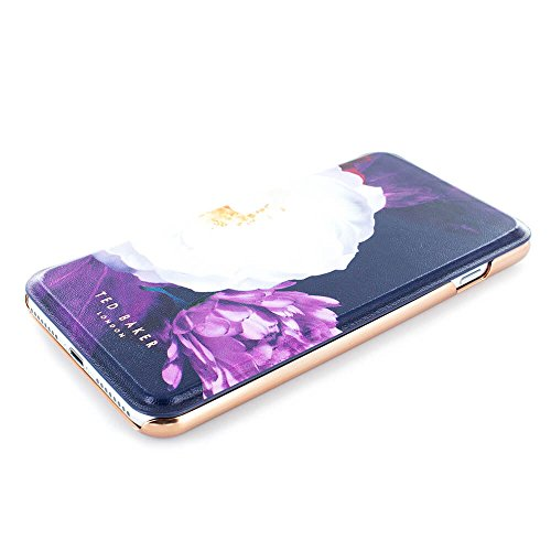 the best attitude 2b6e3 42b65 Official Ted Baker Candance Mirror Folio Iphone 8 Plus Case Blushing Bouquet