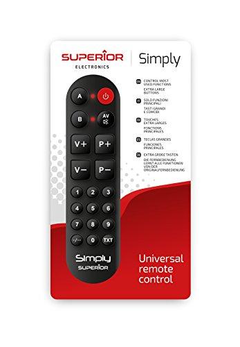 Superior simply numeric - telecomando universale autoapprendente con due banchi di memoria