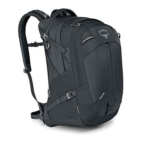 Osprey Tropos 32 Rucksack für Arbeit, Schule und Freizeit, für Männer. Mit integriertem Kickstand Klappständer - Anchor Grey (O/S)