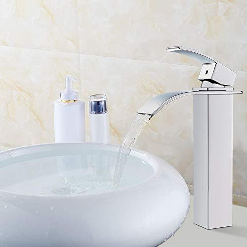 Auralum® Verlängerte Einhebel Waschtischarmatur - 2