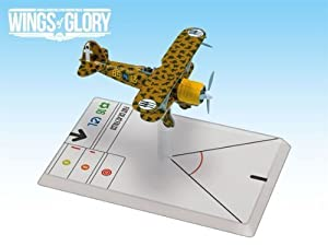 Wings Of Glory: Fiat Cr-42 Falco (Gorrini) - Juguete de aeromodelismo (Ares Games) Importado de Inglaterra