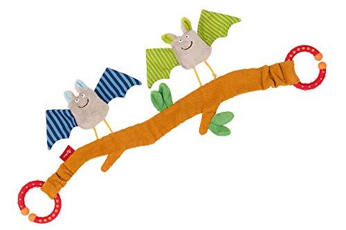 sigikid, Mädchen und Jungen, Wagenkette, Fledermaus, Baby Activity, Mehrfarbig, 42293