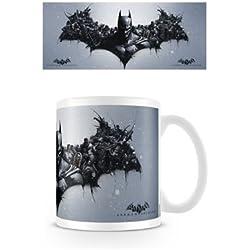 Batman Arkham Origins - Taza de cerámica, diseño de logotipo de Batman - Taza Logo