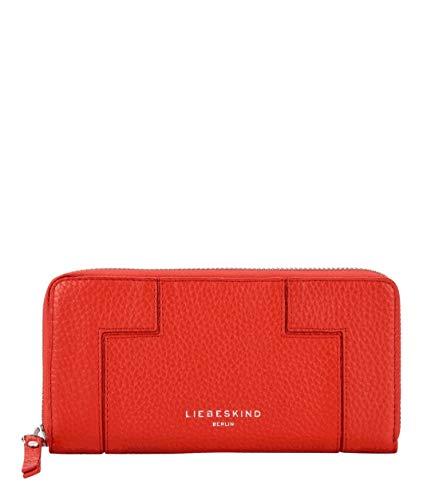 Liebeskind Berlin Damen L-Bag-Gigi Wallet Large Geldbörse, Rot (Poppy Red), 2x10x20 cm