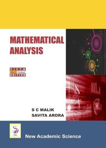 Mathematical Analysis por S. C. Malik