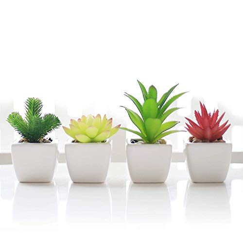 Veryhome Fake Succulents Plants ...