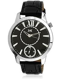 Killer Analogue Black Dial Men's Watch - KLW237B