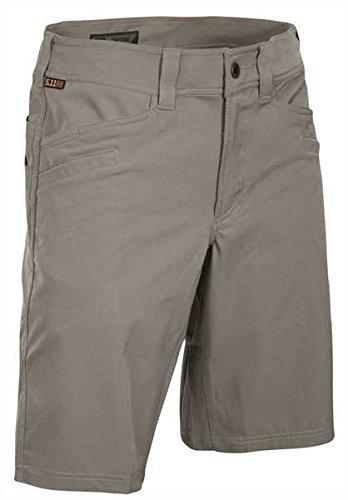 5.11 Tactical Shorts (5.11 Vaporlite Short Stone, Stone, 40)