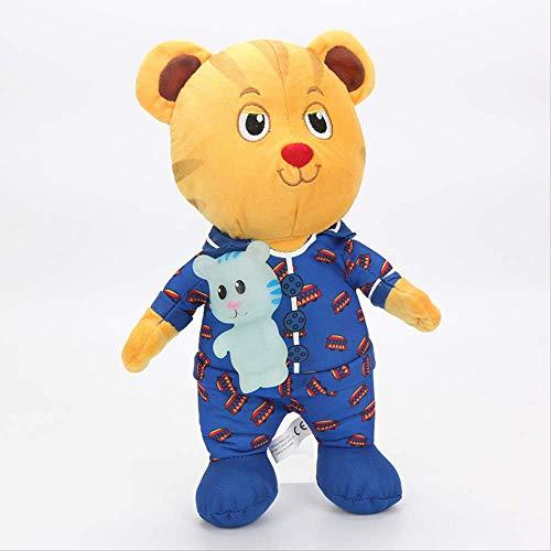 Ylout tiger's neighborhood peluche 30cm,bambola di peluche daniel tiger peluche bambola di peluche per bambini regali