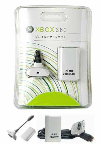 FPUK XBOX 360 CABLE CARGADOR BATERIA USB CARGA Y JUEGA