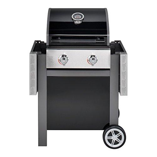 Jamie Oliver Home 2-flammiger Gas BBQ–Schwarz - 3
