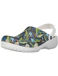 crocs Classic Tropical IV Clog Unisex White Schuhgröße 42-43 2017 Sandalen