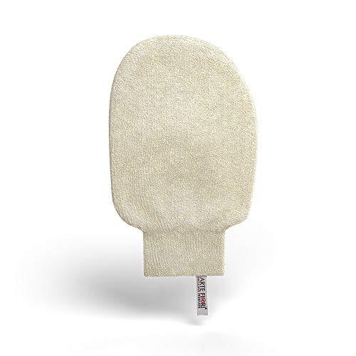 ARTE FIORI® Peelinghandschuh aus Brennnessel- und Baumwollfasern 100% Natürlich, KOSTENLOSE Lieferung innerhalb Deutschlands