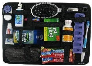 Dhruheer Tool Organizer Bag Travel, Elasticity Grid-It Receiver Digital Accessories Organizer - 1pc