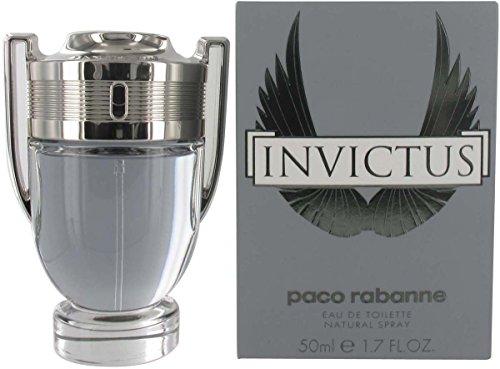 Paco Rabanne Invictus uomo 50ml Eau de Toilette spray per uomo, con sacchetto regalo