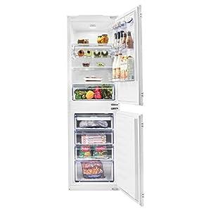 Beko BCFD150 54cm Wide Frost Free 50-50 Integrated Upright Fridge Freezer – White