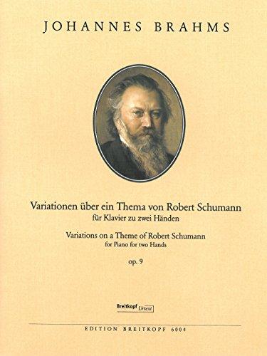 Variationen über ein Thema von Robert Schumann op. 9