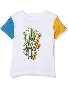 Quiksilver Ssclteboyfries Camiseta, Niño, Sea Salt, 4 Años