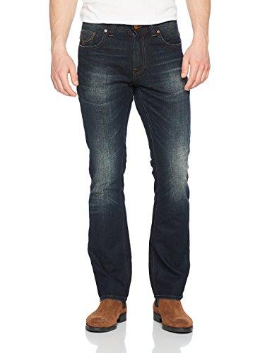 Firetrap Herren Jeans mit Geradem Schnitt (Straight) Deadly Original Blue (Dark Wash), W32/L32