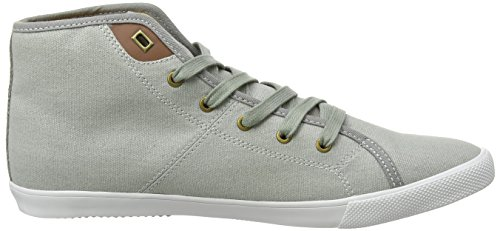 Boxfresh Herren Archit Ug Wxd Cnvs/Sde Grif Gry/Chrm Yel High-Top Grau (GRIFFIN GREY/CHROME YELLOW)