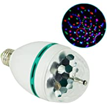 Mini LED Luz Laser de DJ Bombilla para Partido Disco Luz de Proyector Lampara de Laser de Efecto de Bola Magica