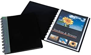 Adoc presentatiemap bind-ex 30-tas A4en polypropylène (PP) Black–Folders (en polypropylène (PP), Black, 30sheets, 247mm, 310mm)
