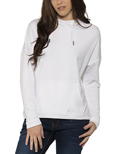 Bench Damen Kapuzenpullover Original Weiß (Bright White WH001)