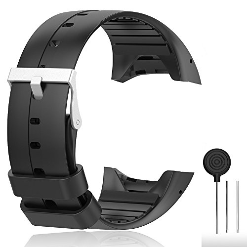Cyeeson Polar M400/ M430 GPS Smart Uhr Replacement Armband Weiche Silikon Farbe Adustable Mischfarbe Band Gel Wristband Strap Watch Band für Polar M400/M430 Unisex Adult GPS Running Watch
