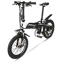 LETFF - Bicicleta eléctrica Plegable para Adulto de 20 Pulgadas, 48 V 240 W,