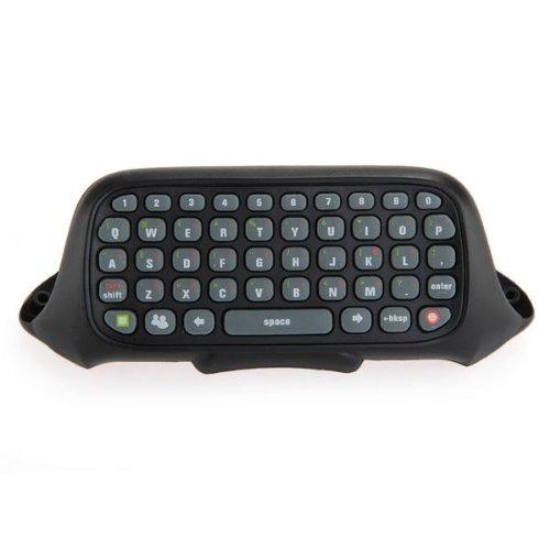 Wireless Controller Tastatur Keyboard 47 Tasten für Xbox 360 Schwarz