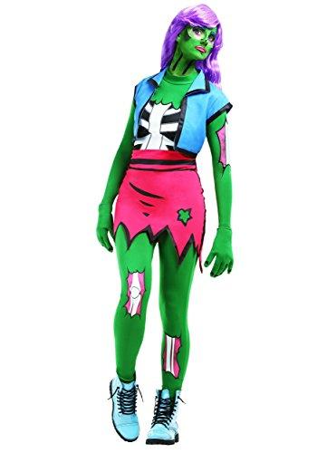 Zombie Arten Von Kostüm - Fun Costumes Pop Art Zombie Kostüm für Damen - XL