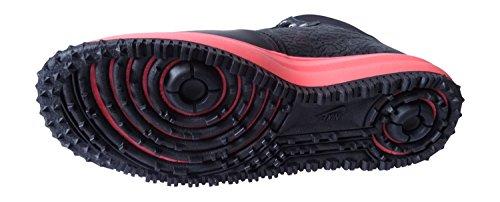 nike lunar force 1 hi sneakerboot da uomo ginnastica 654481 cover per scarpe air force (black bright mango 001)