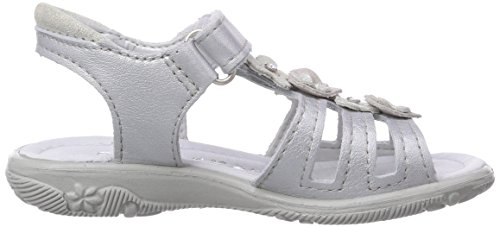 Ricosta Chica, Sandales fille Gris - Grau (silber 410)