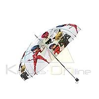 "Disney–Clear Ladybug Umbrella Automatic, lb17041, 19"""