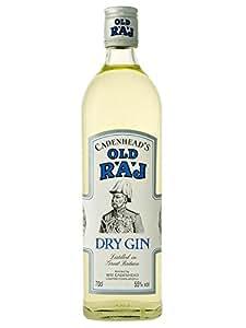 Old Raj Gin 55%vol Cadenheads 70cl