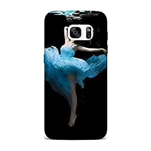 Qrioh Printed Designer Back Case Cover for Samsung S7 Edge -29M-MP1149