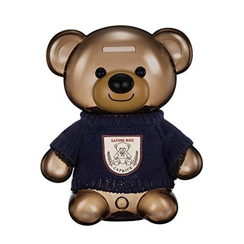 Pz carino cartone animato orso morbido dei capelli asciugandosi
